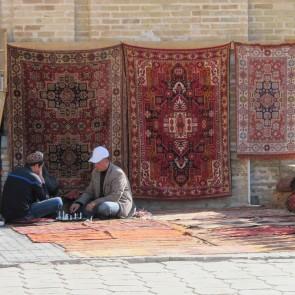 Oezbekistan tapijt bazaar | Tiara Tours