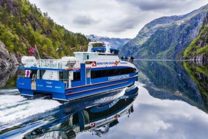 Bergen Fjordcruise to Mostraumen Tiara Tours