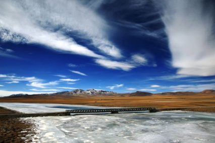 China Tibet landschap rivier Tiara Tours