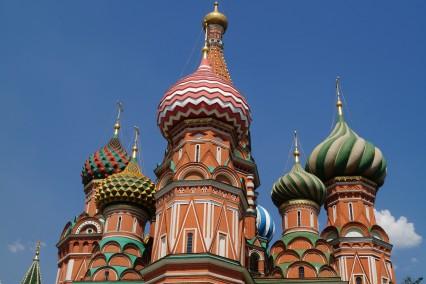 St Basilius kathedraal Moskou