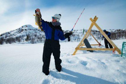 Kirkenes Ice fishing 1 Tiara Tours