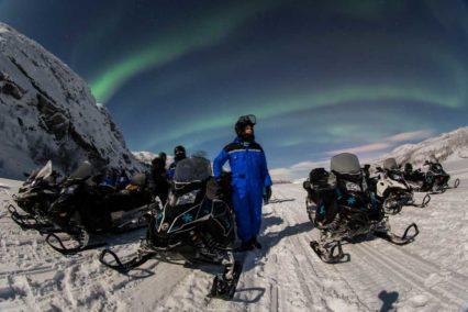 Kirkenes Northern Lights Snowmobile Tiara Tours