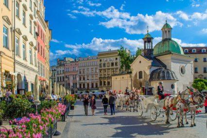Krakau binnenstad Polen Tiara Tours