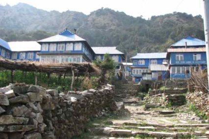 Lodges trekking nepal