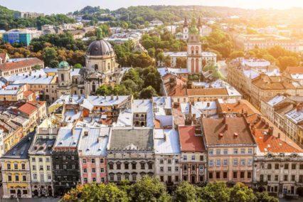 Lviv Uitzicht Tiara Tours