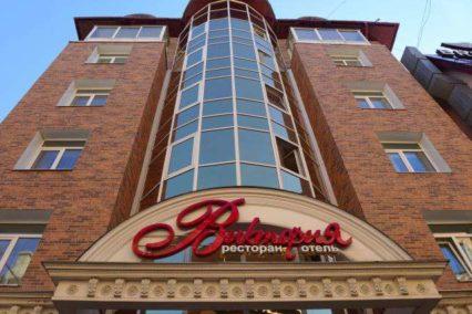 Middenklasse hotel Irkoetsk