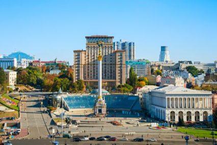 Middenklasse hotel Kiev