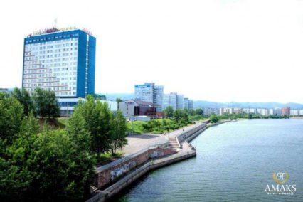Middenklasse hotel Krasnojarsk