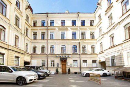Middenklasse hotel St. Petersburg