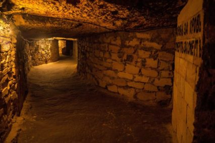 Odesa catacombs Tiara Tours