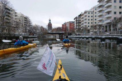 Stockholm Kayak in the city 2 Tiara Tours