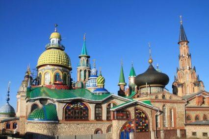 Universele tempel / Temple of all religions Kazan - Tiara Tours