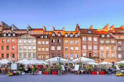 Warschau oude binnenstad plein Tiara Tours