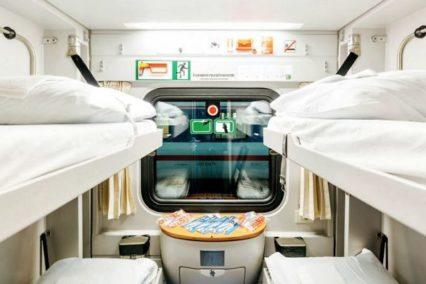 trein Berlijn Moskou 2e klas