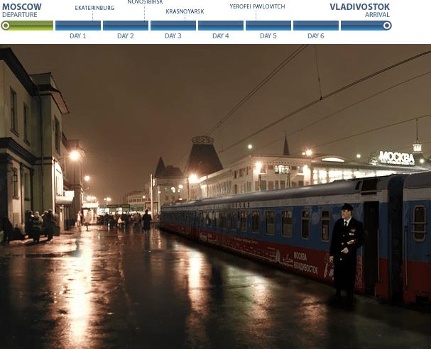 virtuele tour trans siberië express